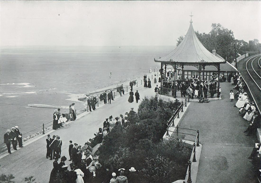 Grange Bandstand - Original site on Promenade